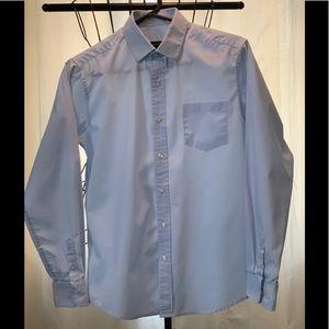 Joseph & Feiss boy's dress shirt pale blue